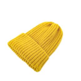 Chapeaux à tricoter pour les filles en Ligne-Chapeau de marée automne et hiver pour enfants, bébé fille, fille