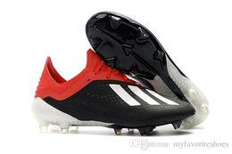 2019 botines de fútbol para hombre X 18.1 FG Zapatos de fútbol Predator x 18 botas de fútbol Tacos de futbol al aire libre de alta calidad nueva llegada desde fabricantes