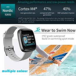 2020 relógio aplicativo 2019 Mais recente moda impermeável Bluetooth relógio inteligente Heart Rate Monitor de Fitness Rastreador Sports Pulseiras App Controle Smartwatch desconto relógio aplicativo