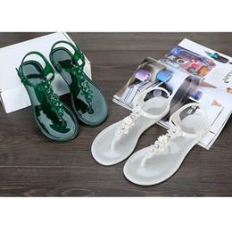 4c75ea12e92b11 2019 großhandel flip flops mädchen Junge Mädchen 2018 Frauen Flip Flops  Strand Sandalen Mode Bling Hausschuhe
