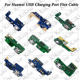 v8 cable color Promo Codes - KiKiss For Huawei P9 P10 P10 Plus 5X XV G9 Honor 8 9 V9 V8 V9 Plus USB Port Charger Board Dock Plug Connector Flex Cable Parts