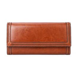 Canada portefeuille femme portefeuille femme 100% cuir véritable portefeuille long pour téléphone / cartes sacs d'argent sacs à main lady portefeuilles bourse B11 supplier make card wallet Offre
