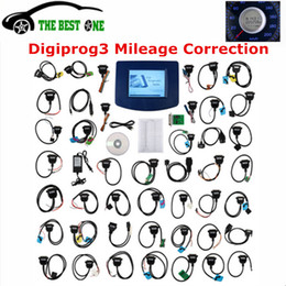 Argentina 2017 Más reciente V4.94 Digiprog III Digiprog 3 Programador de cuentakilómetros Digiprog3 Herramienta de ajuste de kilometraje del coche Digi Pro 3 Cables de sistema completo Suministro