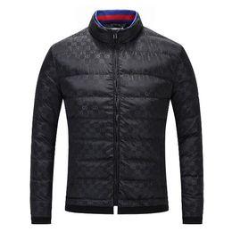 Vente en gros au détail 2019 Automne Designer Marque de luxe Vêtements pour hommes rouge et bleu rayé Toutes les lettres Imprimer Jacket Mens haute qualité veste ? partir de fabricateur