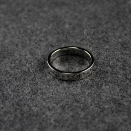 2019 goldener junge klingelt Weinlese-Höhle Thin Ghost-Ring Luxuxentwerfer Grenzen Brief Ring Männer Sterlingsilber-Ring Bohemian Charm Schmuck