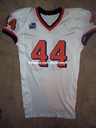 Футбольная команда апельсинов онлайн-Дешевые настроить команда выпустила Сиракузы оранжевый #44 ncaa футбол Джерси мужчины женщины молодежь XS-5XL