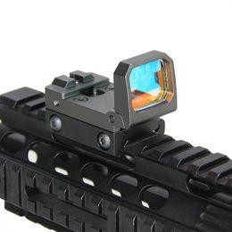 Mira de pistola on-line-Vism Flip Red Dot Mini Pistola Sight RMR Reflex Visão holográfica para airsoft