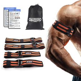 Ноги тренировочные резинки онлайн-BFR окклюзия обертывания Pro полосы сопротивления фитнес рука нога бластер эластичные полосы упражнения для ограничения кровотока обучение