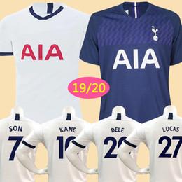 KANE espuelas de calidad tailandesa Camiseta de fútbol 2019 LAMELA ERIKSEN MOUR DELE SON camiseta 18 19 Camiseta de fútbol, hombres y KIT DE JUEGO DE NIÑOS uniforme desde fabricantes