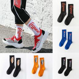 meias de qualidade para mulheres Desconto Nova meia 6 estilos Pepsi Cola Fanta impressão Homens moda feminina Meias Engraçadas de Alta Qualidade Meias Quentes meias designer JY470