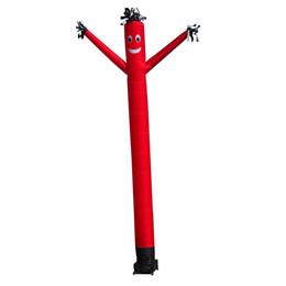 Aufblasbare aufblasbare Luft-Tänzer des Wellen-Mann-einzelnen Beines für die Werbung des im Freienförderungs-Ereignisses mit kundenspezifischem Drucken und niedrigem Gebläse 0.33x3m von Fabrikanten