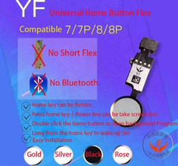 kameramodul iphone 5s Rabatt Die New Edition YF HX Universal-Home-Taste Flex für iPhone 7 7 Plus 8 8 Plus Zurück zur Home-Funktion Lösung Schwarz Weiß Gold Roségold