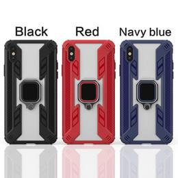 2019 handys telefone indien Für iphone x xr xs max 6 7 8 plus case fingerring halter ständer auto magnethalterung abdeckung case combo hybrid anti shock predator case