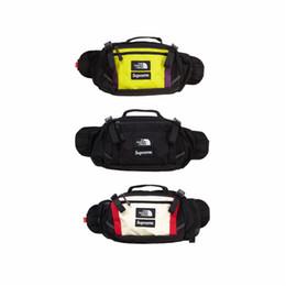 Logos de marque de sac en Ligne-High Street Mens Taille Sac avec Logo Hip Hop Style Crossbody Sac Marée Marque Poitrine Sac