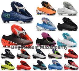 2020 Neue Männer Mercurial Dämpfe XIII Elite FG 13 MDS 001 CR7 Ronaldo Neymar NJR 360 Traum Speed Fußball Fußball Schuh Größe 39 45