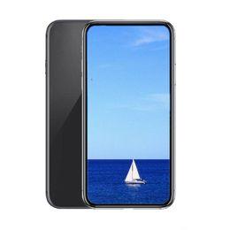 Teléfonos android tv 3g teléfonos online-GooPhone SmartPhone 6.1inch colorido i11 Quad Core RAM 1G 8G ROM 8MP cámara 3G WCDMA Mostrar 4g lte abrió el teléfono falso
