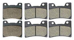 2019 faróis personalizados Disco de freio Pads Ajuste para YAMAHA Rua TDM850 TDM 850 4TX H442 1996 1997 1998 1999 2000 2001 Frente Verso