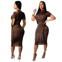 9a25fa0929165f Frau Explosion Modelle Europa und die Vereinigten Staaten heiße Art und  Weise Dünnes reizvolles kurzärmliges Kleid der Frauen auf verkauf