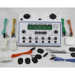 Stimulateur musculaire des dizaines en Ligne-6 canaux DIX UNITÉ. Appareil multifonctionnel de massage de santé de stimulateur d'acupuncture KWD-808I acupuntura Stimulateur électrique de muscle nerveux