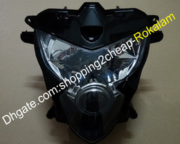 segnali di giro di metallo Sconti Faro del motociclo per Suzuki GSXR 600 750 04 05 GSXR600 GSXR750 2004 2005 K4 chiaro capo dell'Assemblea lampada frontale Parte