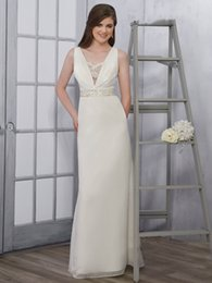 138db4e2a Grace Ivory gasa con cuello en v granos de la envoltura vestidos de novia  Vestidos nupciales Vestidos de boda Vestidos Tamaño personalizado 2-18  KF1217186