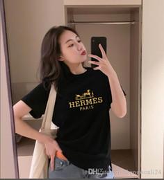 Magliette felpate per gli uomini online-Magliette di alta qualità T9 Designer T Shirt Luxurys Magliette casual da donna T-shirt Moda girocollo Stampa cotone manica corta