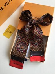 Роскошный дизайнер высокого качества имитация шелковой ткани ленты многофункциональный платок галстук-бабочка ленты для волос сумки Бесплатная доставка от