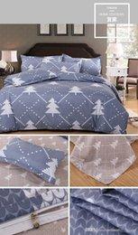 Têxtil para a casa atacado água lavada de algodão 4 pçs / set de 100% algodão lençol da cama 4 pcs da cama navio livre de Fornecedores de conjunto de edredão de seda de qualidade