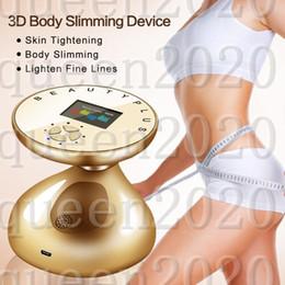 Massaggiatore di rimozione dei grassi online-RF LED Ultrasonic Body Dimagrante Massager Ringiovanimento della pelle Ringiovanimento Bruciatore Grasso Anti Cellulite Snellente Strumento di Tensione