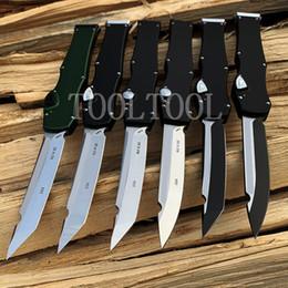 Canada 100% OEM Halo V Tanto Couteau Automatique Simple Action Auto Couteau Tactique Couteau De Survie couteaux avec gaine De Kydex Camping Outils cheap simple gears Offre