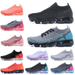 2019 nuevos zapatos corrientes frescos 2.0 Nuevos zapatos para correr para hombre Triples Blanco Negro Fresco Gris Entrenadores de TPU Entrenadores de diseño de moda Zapatillas deportivas 36-45 nuevos zapatos corrientes frescos baratos