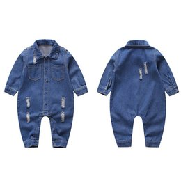 65dc4ba22bcb baby clothes baby girl designer clothes toddler boy clothes Newborn Romper  Denim Baby Rompers Infant Jumpsuit One Piece Clothing A2778