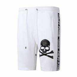 ad8fe1aa5b6b2 Original Genuine Summer seaside Philipp plein Men's Swimwear printed shorts  beach pants swimwear pants Men's Swimwear Board short A1