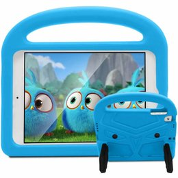 2019 housse de caisse pour kindle Couverture de tablette antichoc Kid Sparrow Cartoon EVA pour ipad 9.7 '2017/2018 / air2 / air 1 pro mini 2345 enfants cas