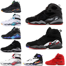37ce0f50de1 Men Basketball Shoes 8 8s Valentines day Aqua Chrome Countdown Pack SOUTH  BEACH PLAYOFF Mens Trainer Sports Sneaker 7-13 Drop Shipping valentines day  ...