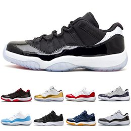premium selection b6958 fef97 Nike Air Jordan 11 Retro NEUE 11 hohe Basketballschuhe Mens Outdoor Sports Schuhe  Rot schwarz weiß Regenbogen Chicago Designer Schuhe 11s Athletic Sneakers  ...