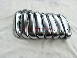 Set di golf di grafite online-Hot Sale Golf Club 8 PZ 2019 APEX Golf Club Irons Set 3-9 P Regolari / Acciaio Rigido / Grafite Alberi Spedizione Gratuita DHL