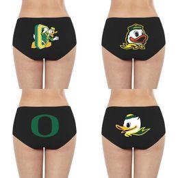 2019 oregon ducks shorts Baumwolschlüpfer Sexy Bikini-Panty Oregon Ducks Fußball-Logo Fußball-Logo der Frauen Gelb primären Team Basketball Homosexuell Stolz Regenbogen günstig oregon ducks shorts