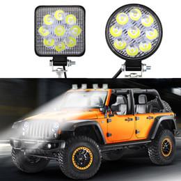 led-lkw-arbeitsleuchten Rabatt Neue MINI Arbeitsbeleuchtung 9 LED SMD 27W Arbeitslampe Motorrad-LKW SUV CRV RAV RV Tagfahrlicht DRL 6500K 12V / 24V