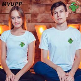 pares da família camiseta Desconto Cactus casal camiseta mulheres e homens roupas branco plus size para amantes t tops femme vestidos ulzzang engraçado marido esposa família