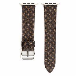 montre bracelet montre en cuir Promotion Bandes de poignet pour bracelet de montre Apple Style de loisir pour bracelet Iwatch pour bracelet de montre en cuir de rechange