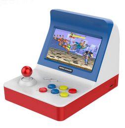 2020 av card SFC MD GBA Retro Arcade Game Console A8 Máquina de Jogos 3000 Jogos Clássicos de Suporte TF Card Expansão Gamepad Controle AV Out 4.3