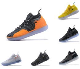 2019 zapatillas kevin durant para hombre Zapatillas de baloncesto KD 11, zapatos de diseñador para hombre Zoom Kevin Durant 11s, zapatillas deportivas, zapatillas de deporte blancas y rojas de lujo EP Elite 40-46 rebajas zapatillas kevin durant para hombre