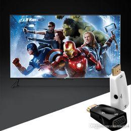filtro elétrico Desconto Homem de 1080P HDMI ao conversor video do adaptador fêmea de VGA com saída audio N3