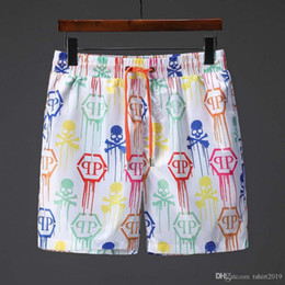 Appliques de bain en Ligne-Shorts hommes pantalons de plage pantalon baggy été décontracté shorts pantalons de surf à séchage rapide maillot de bain maillot de bain bermuda surf la vie