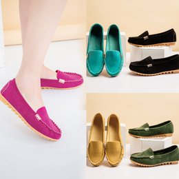 8805372fed9d Plus Size 35-43 Women flats Boat Shoes Sneakers espadrilles Slip on Flat  Shoes For Woman zapatillas mujer Loafers Ladies