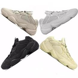 Adidas Yeezy Boost Shoes Kanye West 500 Utility Super Moon Yellow Desert Rat Salt Zapatillas deportivas para correr Zapatillas Yeezy Men para mujer Zapatillas de deporte casuales desde fabricantes