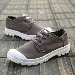 zapatos casuales extranjeros hombres Rebajas Fábrica de comercio exterior directa en nombre de zapatillas de deporte al aire libre de los zapatos de lona única baja de los hombres originales zapatos casuales Joker