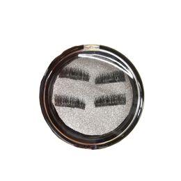 Accessori di capelli falsi online-4 pezzi / paia Accessori 3D Estensione Capelli magnetici Dropship False Fashion Makeup Ciglia Eye Fake Soft
