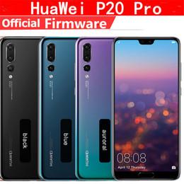 Lager doppelsim online-Lager 6,1 '' Huawei P20 Pro AI Smartphone IP67 Wasserdicht 40.0MP Dreibettzimmer Rückfahrkameras Vollansicht-Bildschirm NFC Android 8.1 Twilight